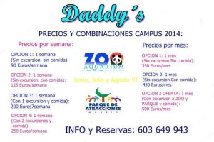 daddys camp